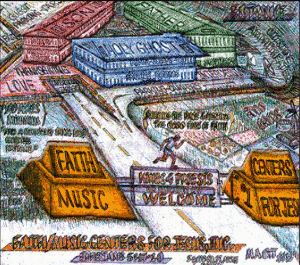 Faith Music Centers for Jesus Graphical Banner